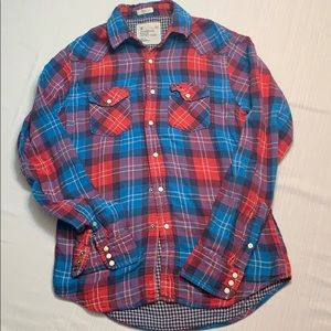 American Eagle Plaid Flannel Shirt